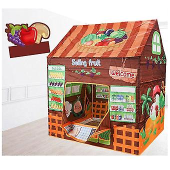 Game House Play Tent Girl Princess Indoor Outdoor Toys, Secret Garden Play Ball