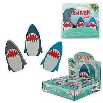 Fun Shark Eraser Set of 3 X 1 Pack