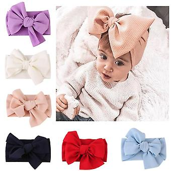 Elastic Bow Knot Design, Headband For Baby- Hair Accessories
