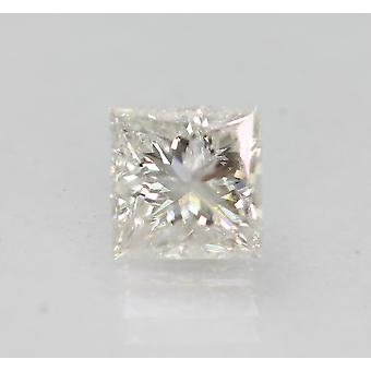Zertifiziert 0.97 Carat E Color SI2 Princess Natural Loose Diamond 5.6x5.58mm