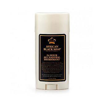 Nubian Heritage African Black Soap Deodorant, 2.25 Oz