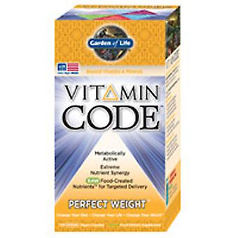 Garden of Life Vitamin Code, Perfect Weight Formula 240 Caps
