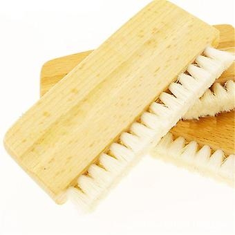 Anti-static Goat-hair Wood-handle Cleaning Brush