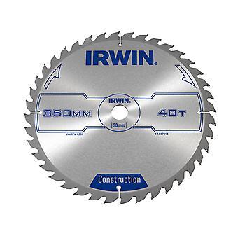 IRWIN Kreissäge blatt 350 x 30mm x 40T ATB IRW1897215