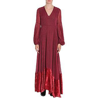 Ainea F7d12a4 Women's Burgundy Nylon Dress