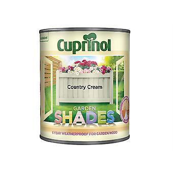 Cuprinol Garden Shades Country Cream 1 Litre CUPGSHCC1L