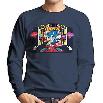 Sonic The Hedgehog Bonus Nopeus Men's Collegepaita