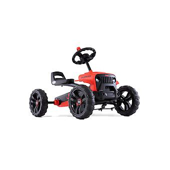 BERG red/black jeep buzzy rubicon pedal go kart
