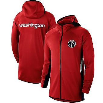 Washington Wizards Showtime Therma Flex Performance Fuld Hættetrøje Top WY119