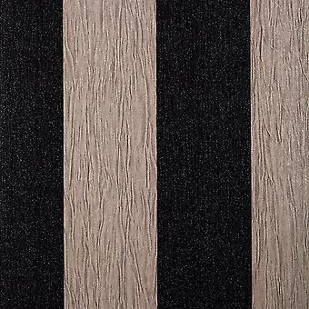 Debona Crystal Stripe Taupe Black