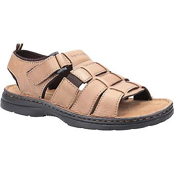 Hush Puppies Mens Spectrum Fisherman Leather Sandals
