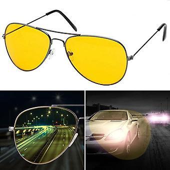 New Night Vision Glasses Men Driving Yellow Lens Women Sunglasses Classic
