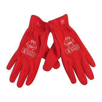 Puma Sesame Street Elmo Gloves Kids Youths Children Red 041271 02 A187C