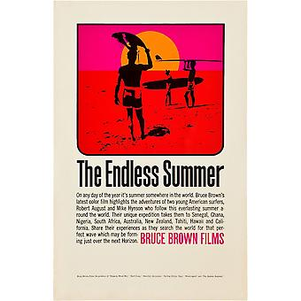L'Endless Summer Poster Art 1966 Movie Poster Masterprint (8 x 10)