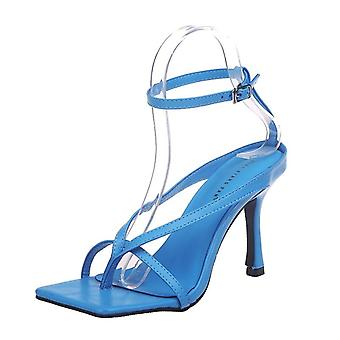 Summer Stiletto Ankle Strap Sexy Open Toe Party Sandals Ladies Shoes