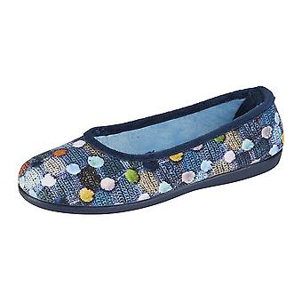 Sleepers Womens/Ladies Samira Ballerina Slippers