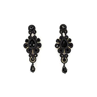 Drop Earrings With Swarovski Stones