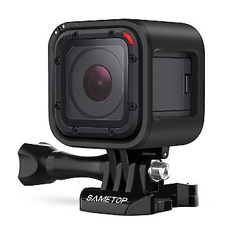 Sametop frame mount housing case compatible with gopro hero 5 session, hero 4 session, hero session