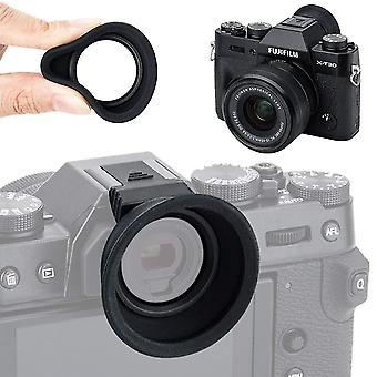 Kiwifotos eyecup rubber eyepiece for fujifilm fuji x-t30 x-t20 x-t10 viewfinder (hot shoe mount inst