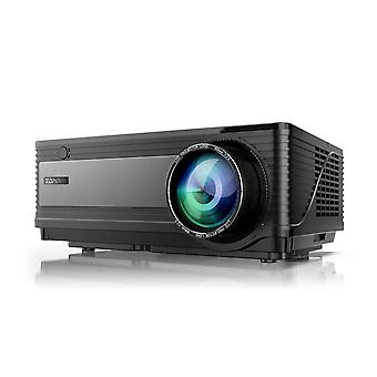 """Yaber projector 6500 lumen 1080p native led projector full hd support 4k 1920 x 1080 with 300"""" displ"""