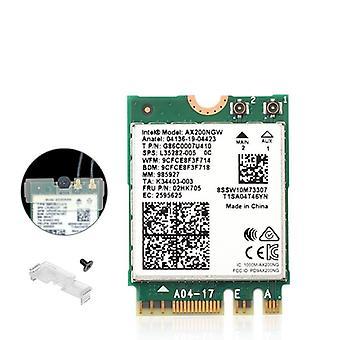 Dual Band Wireless M.2 Wifi6 Intel Ax200 2974mbps Bluetooth 5.1 802.11ax
