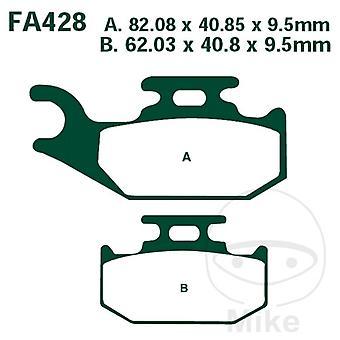 EBC R - ATV- ja likajarrupalat (FA428R)
