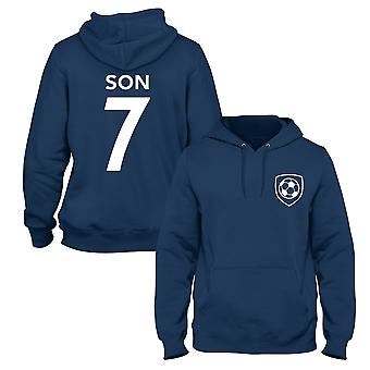 Son Heung-Min 7 Club Style Player Football Hoodie