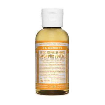 Citrus Liquid Soap (Savon Liquide Agrumes-Orange) 60 ml