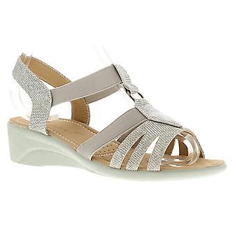 Ladies Womans Summer Sandal Open Toe Slip On UK Size