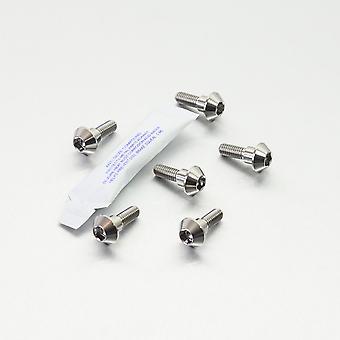Perno de disco de titanio pro perno (paquete 6) TI6DISCR1R6