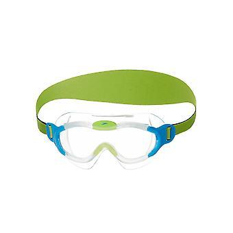 Speedo-Sea Squad Junior Schwimmen Maske - klare Linsen - blau