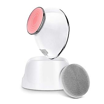 Electric facial deep cleaner brush massager tool face skin care usb rechargeable silicone cleanser