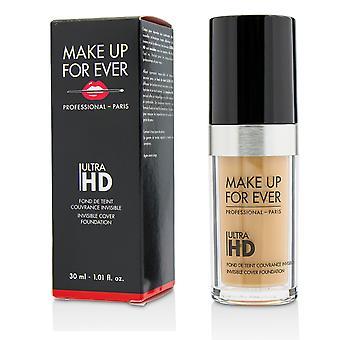 Ultra hd invisible cover foundation # y335 (dark sand) 216514 30ml/1.01oz