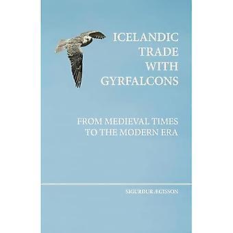 Isländischer Handel mit Gyrfalcons