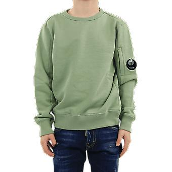 C.P.Company Sweatshirts - Crew Neck Grön 10CKSS061003569W631 Topp