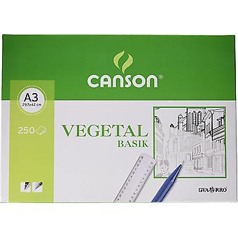 Canson 406244 Vegetable Paper 250Sheets