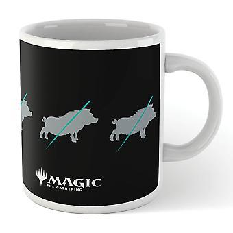 Magic The Gathering Throne of Eldraine Big Bad Wolf Merch Mug Coffee Tea Cup