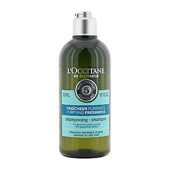 L'Occitane Aromachologie Rensende Friskhed Shampoo (Normal til fedtet hår) 300ml/10.1oz
