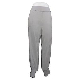 zuda Women's Pants Regular Z-Knit Jogger with Pockets Silver A389249