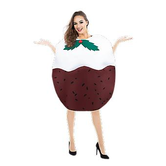 Orion kostuums Unisex reus Christmas pudding nieuwigheid voedsel fancy dress kostuum