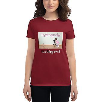 Toyphotography - T-shirt met korte mouwen voor dames