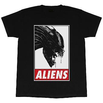 Alien Mens Logo T-Shirt