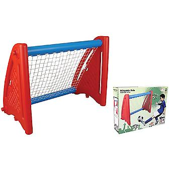 Pilsan barnefotballmål 03397 for hagen, værbestandig materiale 120 x 80 cm