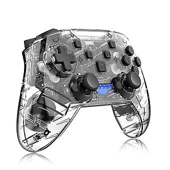 Wireless Bluetooth Game Controller Gamepad 6 axis Game Joystick Handle(black)