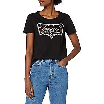 Garcia X00001 T-Shirt, Black, XXL Women
