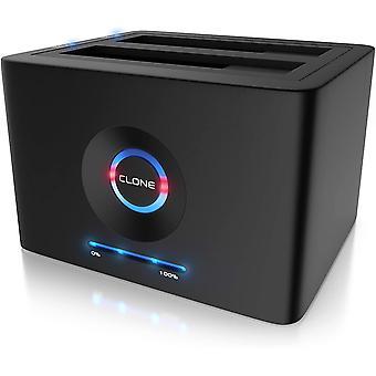 - USB 3.2 Gen 1 Festplatten Dockingstation - Offline Klonfunktion - Festplatten Docking Station -