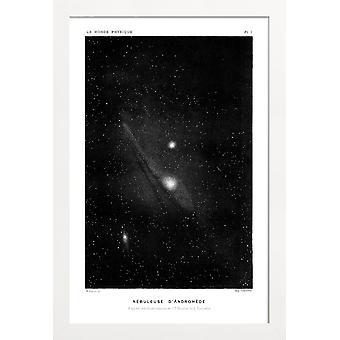 Juniqe Print - Le Monde Physique - Astronomía y póster espacial en negro