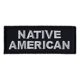 """التصحيح، رقعة المطرزة، الأمريكيين الأصليين (الهندي)، 4 """"X 1.5"""""""