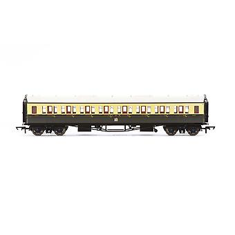 Hornby GWR Collett 'Bow Ended' Corridor Third 4556 Era 3 Model Train