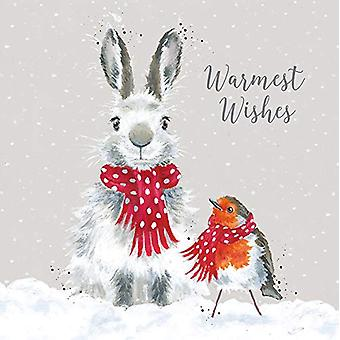 Wrendale Snow Angels Christmas Cards